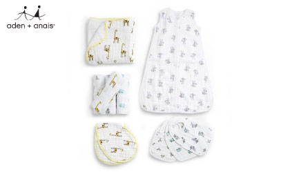 Aden + Anais Classic Swaddle Baby Blanket product image