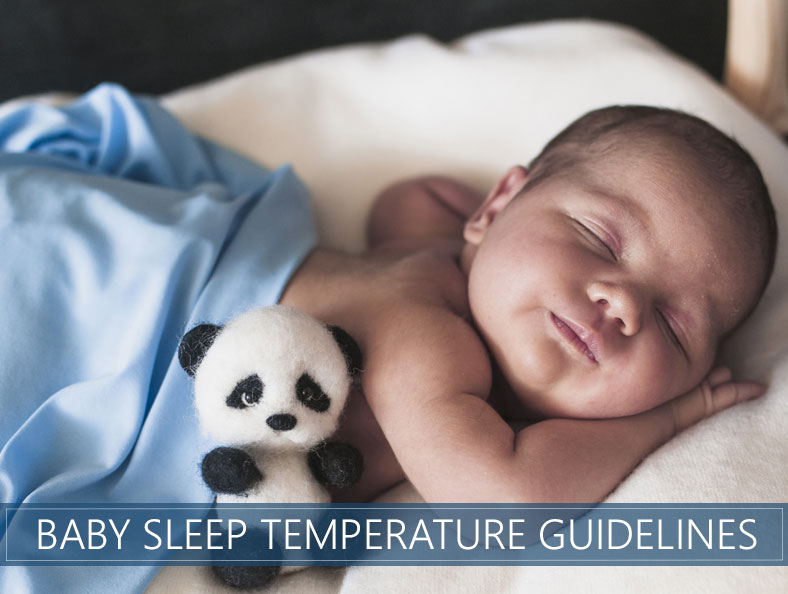 baby sleep temperature guidelines
