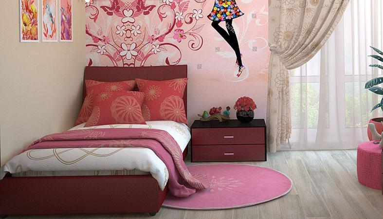 bedroom for a little girl