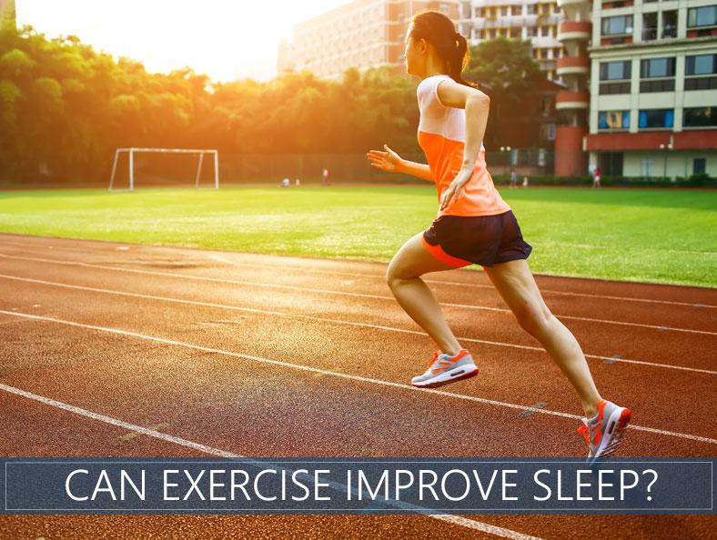 can exercise improve sleep