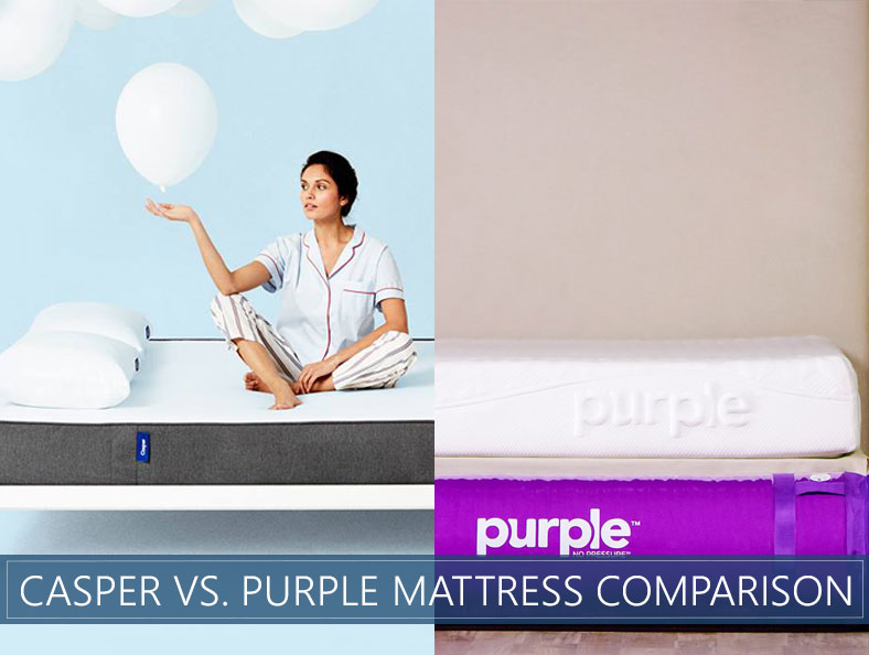 our casper vs purple comparison for 2019