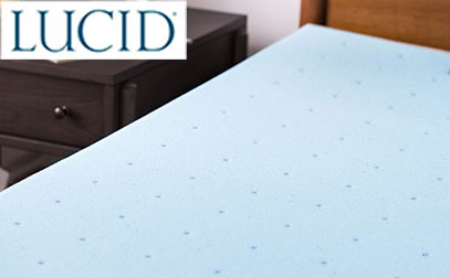 Product image of lucid mattress topper