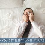 why you get sleepy when you are sick