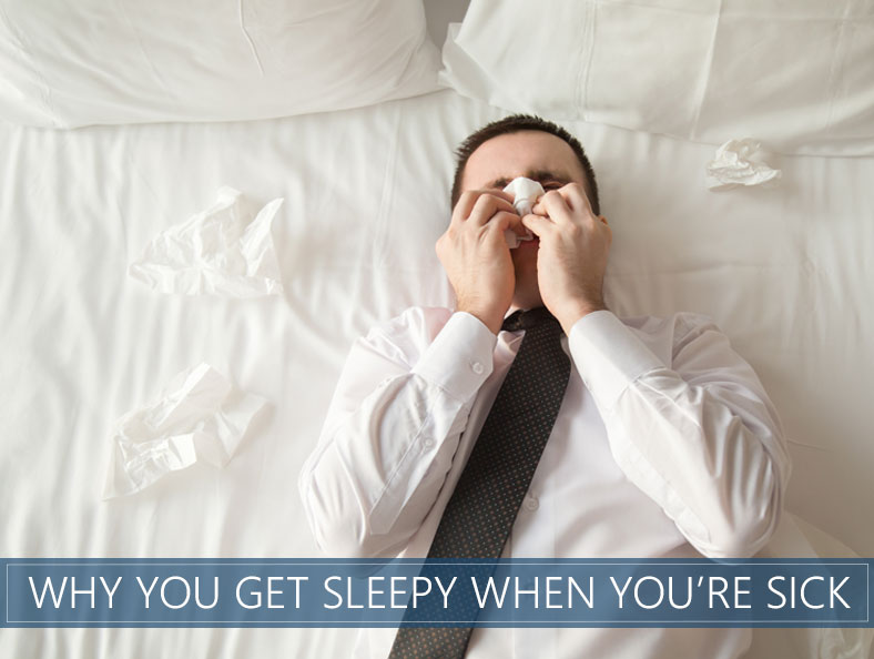 Why Do You Get Sleepy When You're Sick (Cold & Flu)? | The