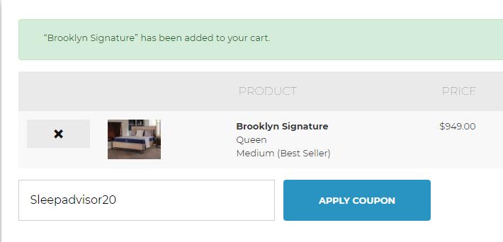 brooklyn bedding cart