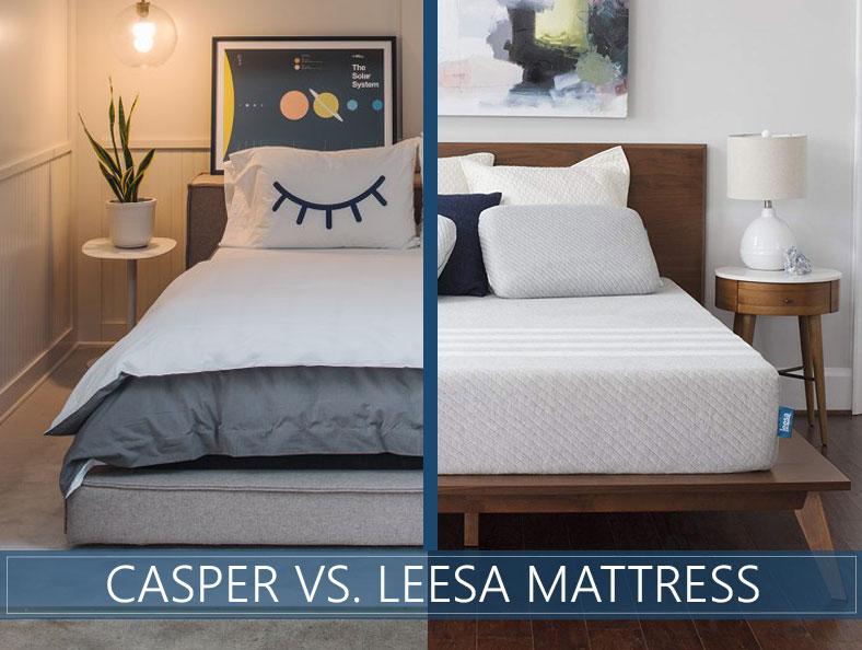 casper versus leesa bed