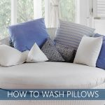HOW TO WASH PILLOWS IMAGE
