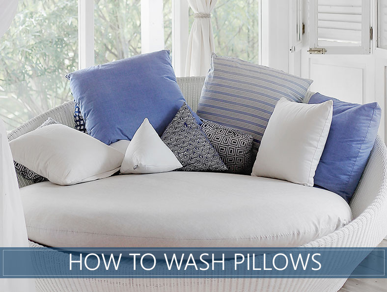 How To Wash Pillows for Beginners