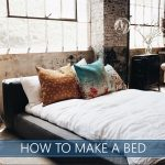 how to make a bed image