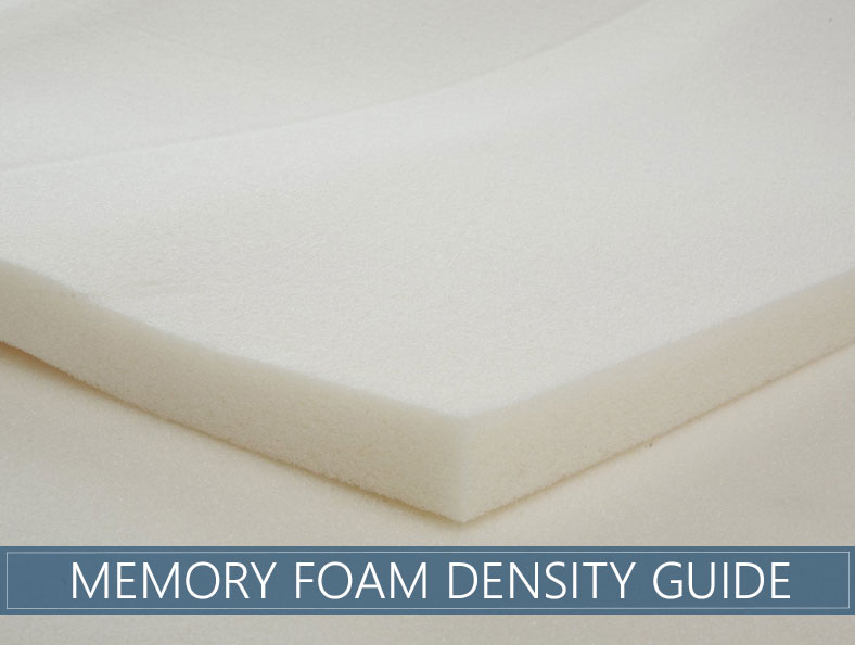 memory foam density guide