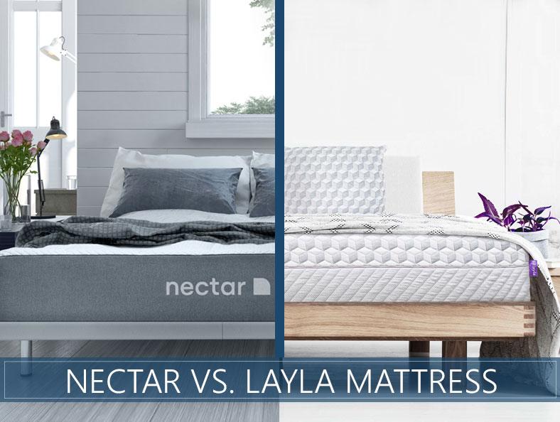nectar versus layla bed