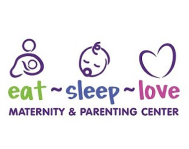 eat sleep love logo