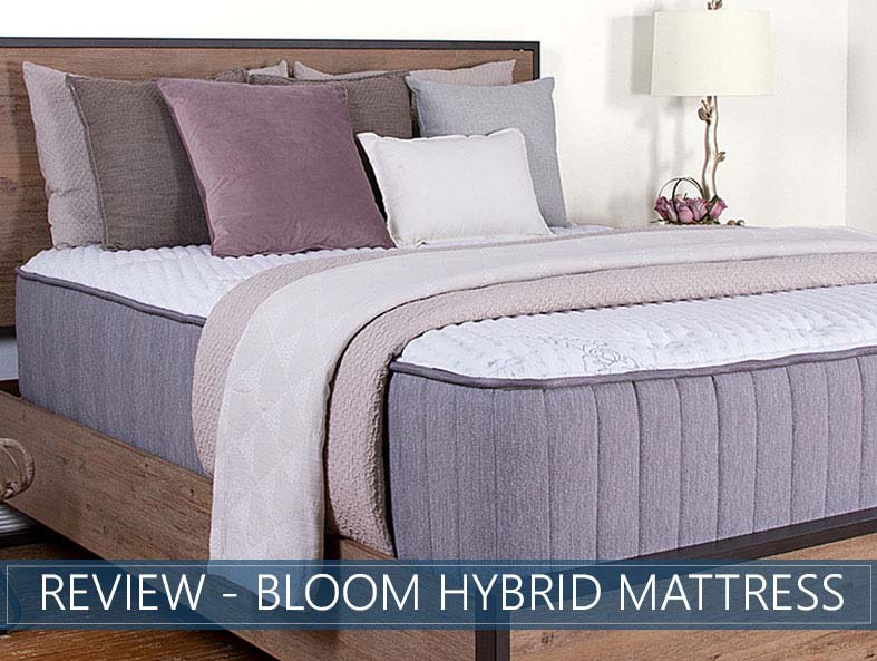 Our in depth overview of the Bloom Hybrid mattress by Brooklyn bedding