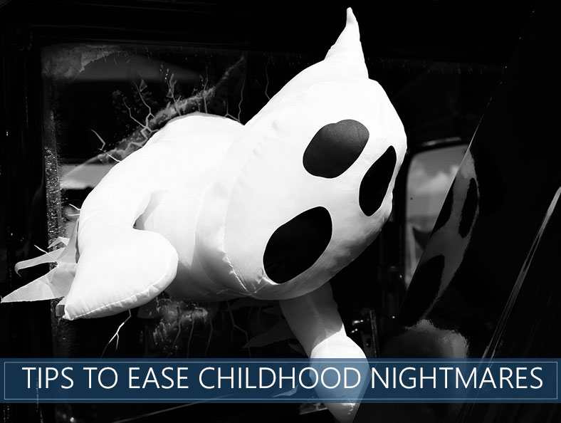 how to ease toddlers nightmares