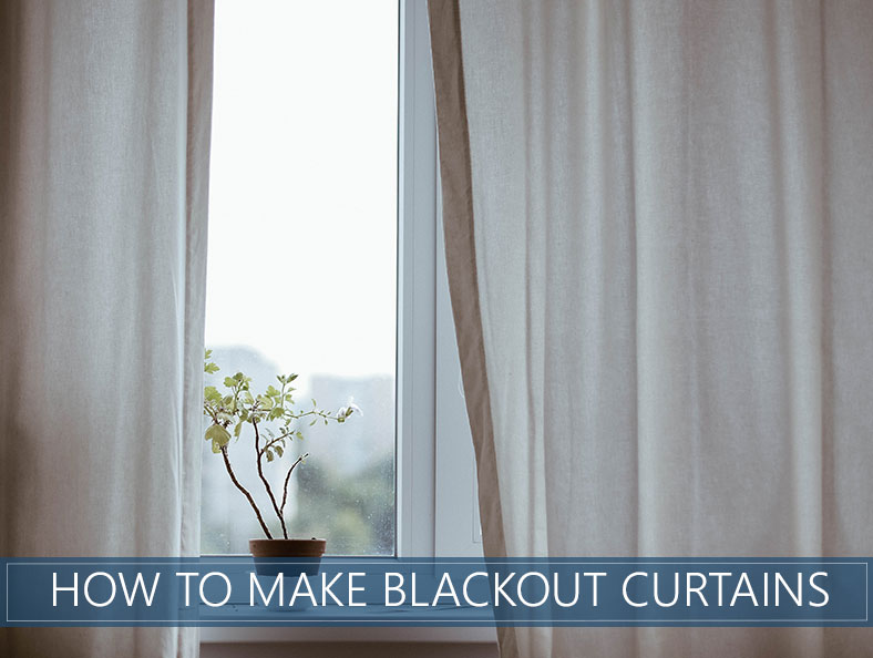 Making The Blackout Curtains Diy
