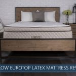 overview of the Willow 12″ Eurotop Latex Bed