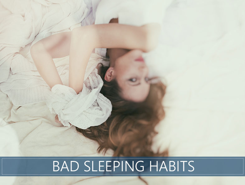 sleeping habits which are bed