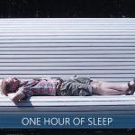 One hour of sleeping