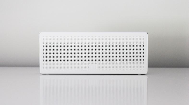 Nice white speaker