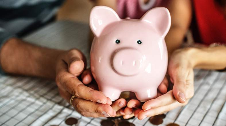 cute piggy money box