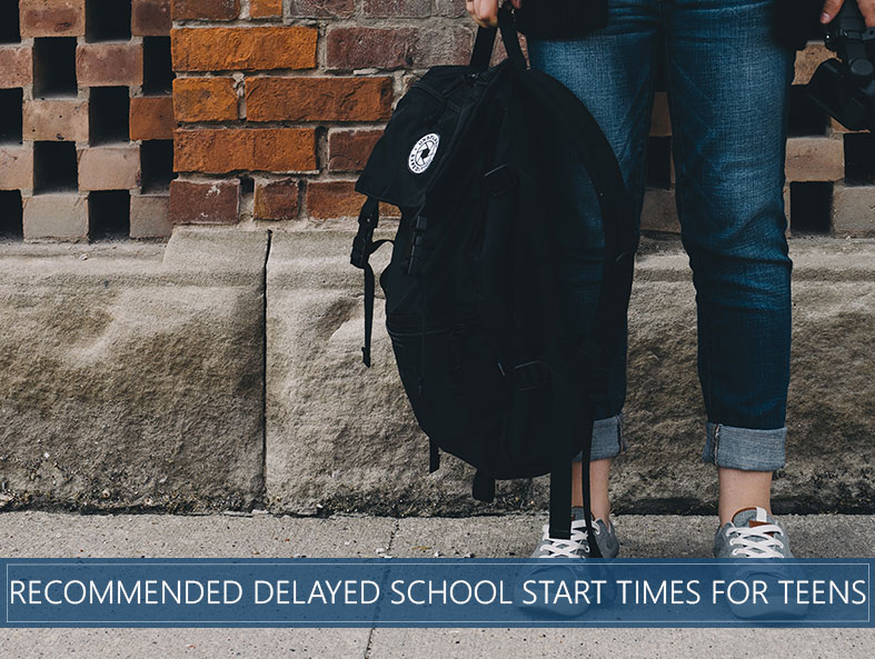 delayed school for teens recommended by study
