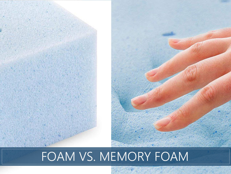 difference between polyfoam and memory foam
