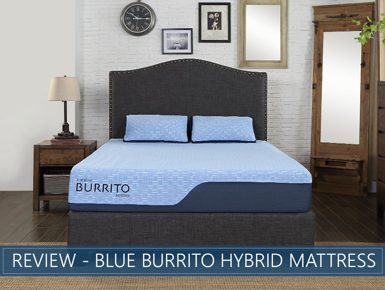 our in depth overview of the blue burrito hybrid bed