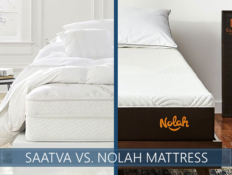 Comparison of Saatva vs. Nolah mattress