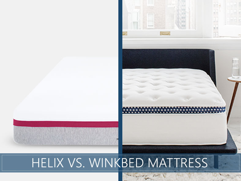 Helix vs. winkbed comparison mattress