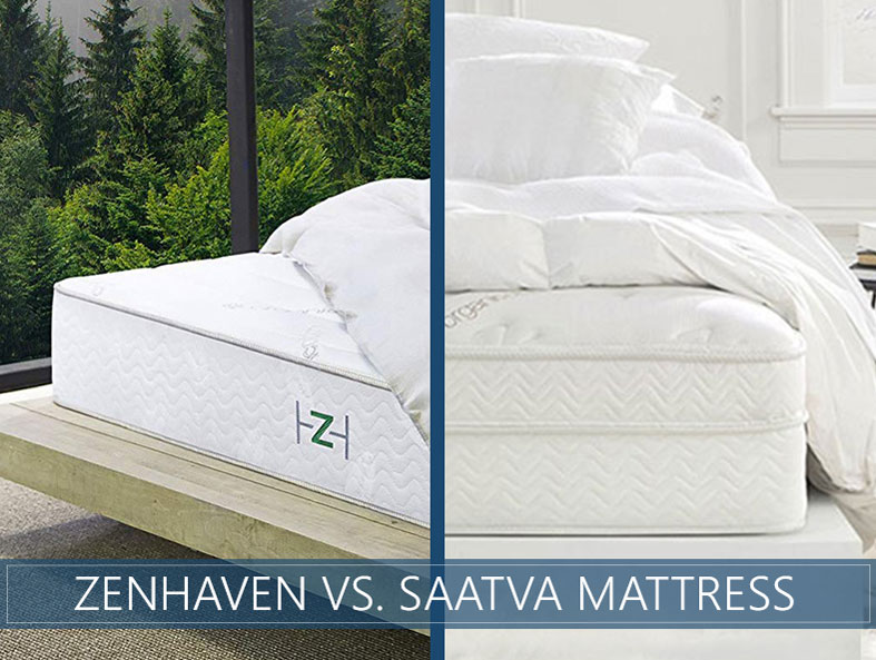 In depth comparison of zenhaven and saatva bed