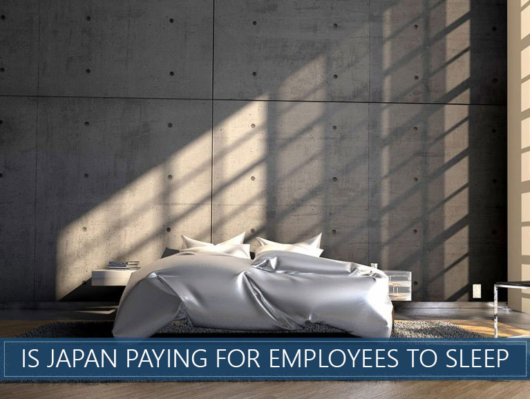 Is Japan Paying for Employees to Sleep