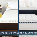 Our comparison of Nolah vs WinkBed mattress
