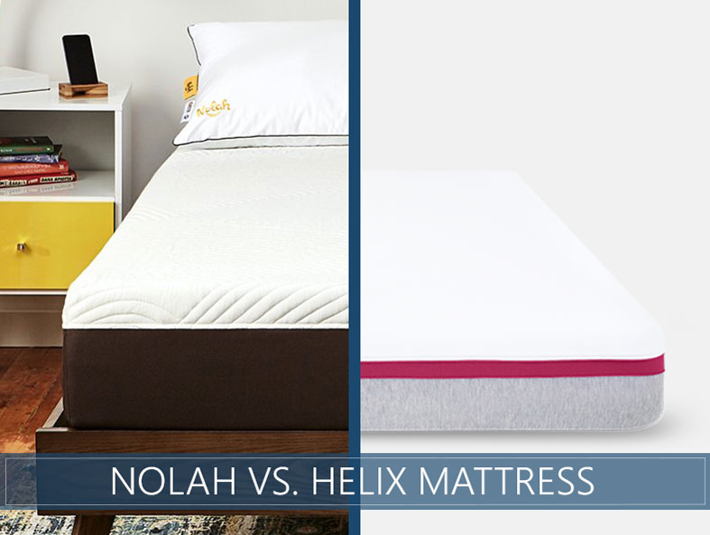 Our comparison of Nolah vs. helix bed