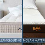 Our in depth comparison of DreamCloud vs. Nolah bed
