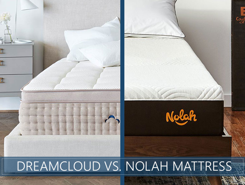 Our in depth comparison of DreamCloud vs. Nolah bed
