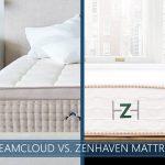 Our in depth comparison of DreamCloud vs. Zenhaven mattress