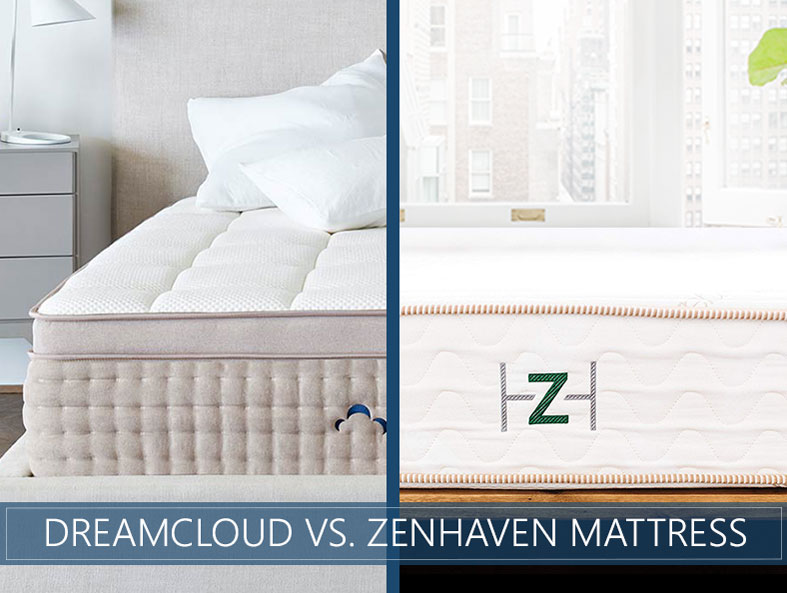 Our in depth comparison of DreamCloud vs. Zenhaven mattress