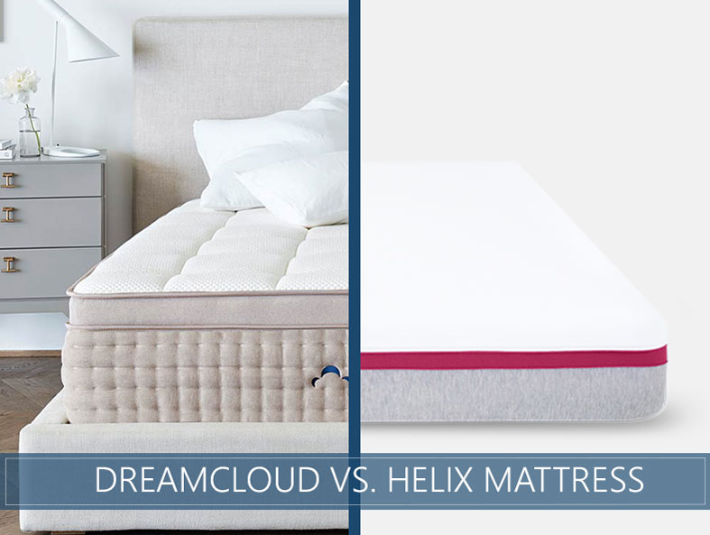 Our in depth comparison of Dreamcloud vs. helix bed