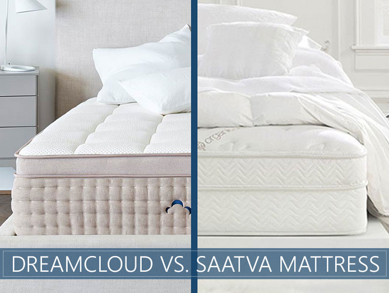 Our in depth overview of the dreamcloud vs. saatva mattress