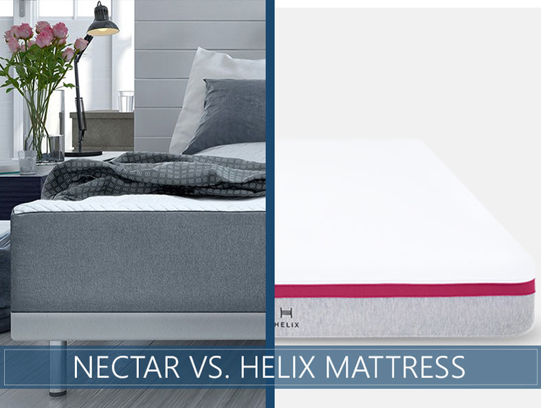 comparison of nectar and helix bed