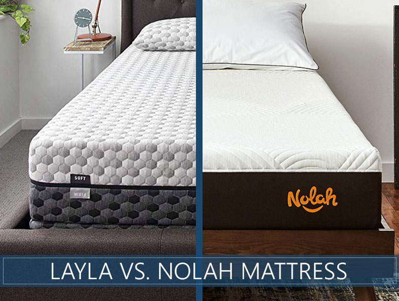 Comparison for layla and nolah bed