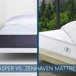 Our comparison of casper and zenhaven bed