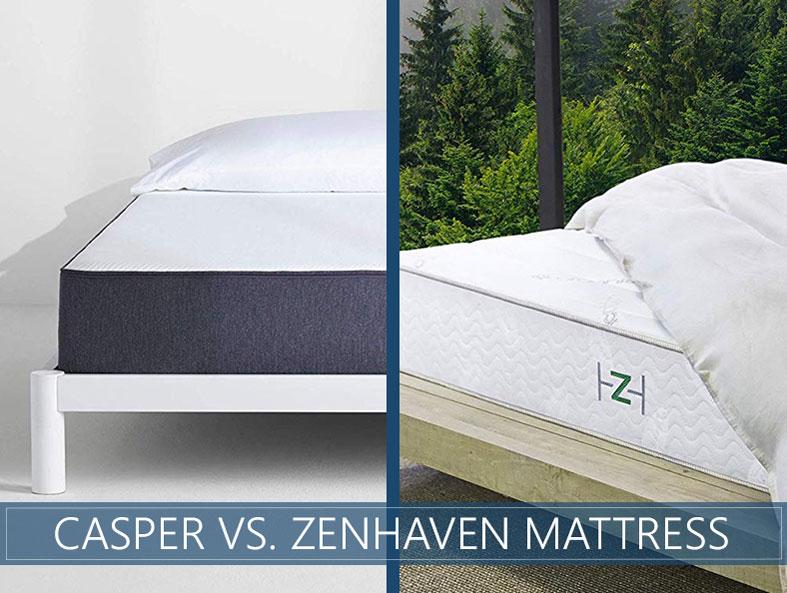 Our comparison of casper and zenhaven bed