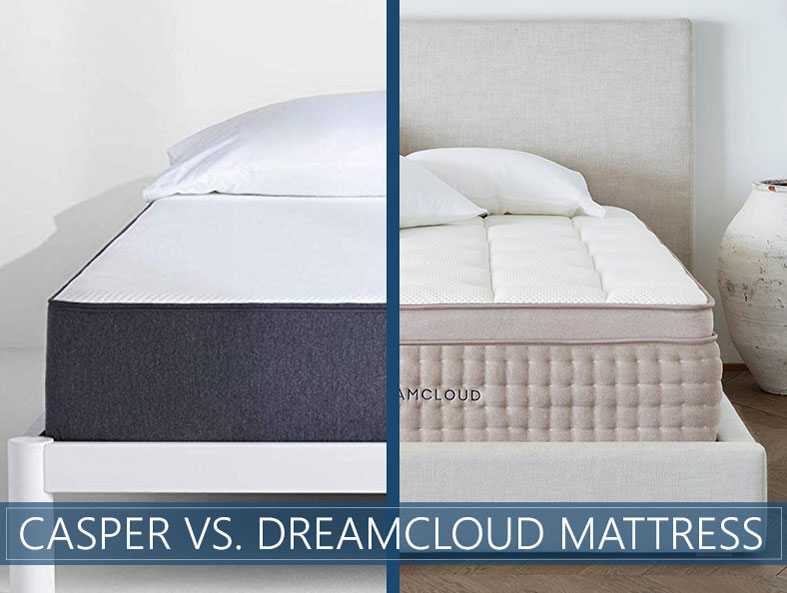 Our in depth comparison of Casper and Dreamcloud mattress