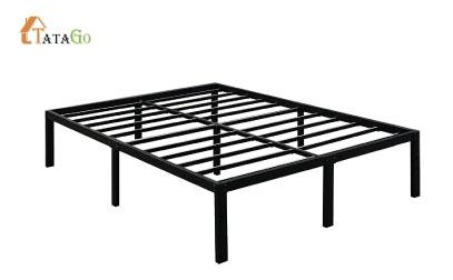 TATAGO 16 Inch Heavy Duty Metal Platform Bed