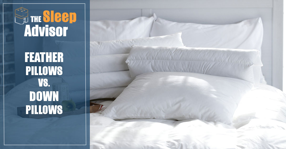 Down Vs Feather Pillows What Are They And Is One Better
