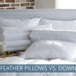 down pillows versus feather ones