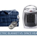 electric blanket versus space heater