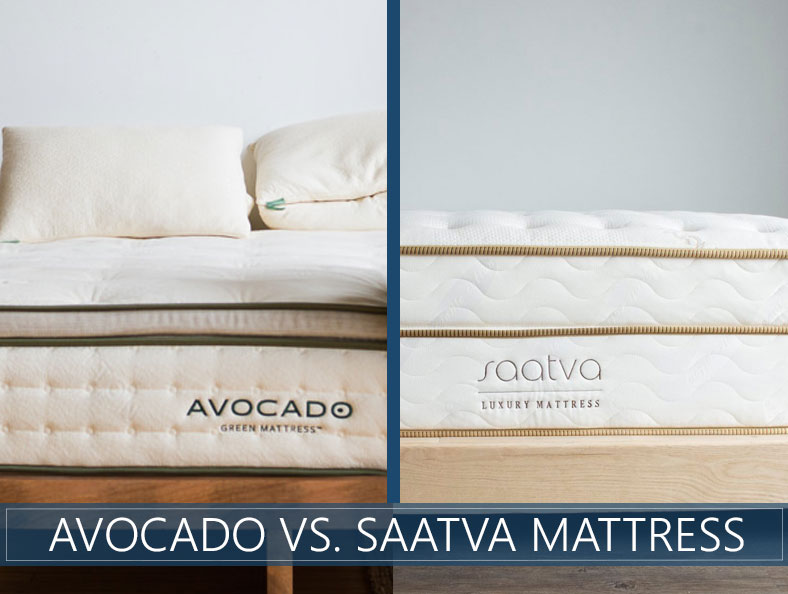 our comparison of avocado and saatva