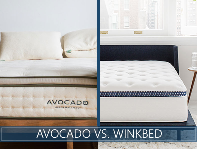 our comparison of avocado and winkbed